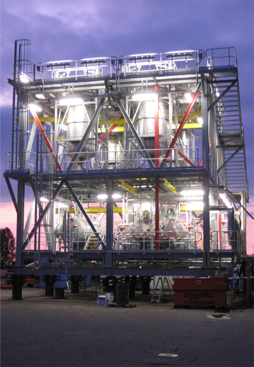 Química e Derivados, Veolia indica MPPE para remover óleo de água de descarte