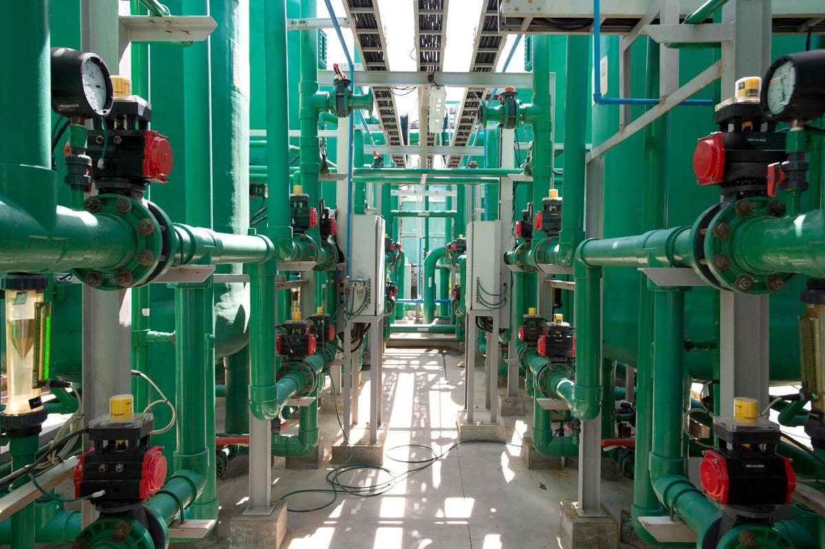 Química e Derivados - Vista interna das instalações da Katrium, em Honório Gurgel-RJ